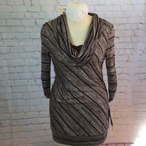 NWT Almost Famous cowl neck body con dress
